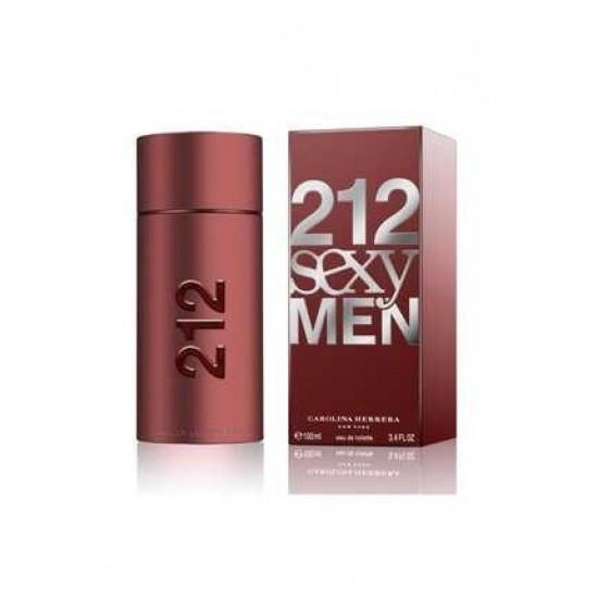 212 Sexy Men Edt 100 Ml Erkek Parfümü