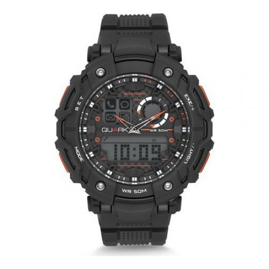 Quark Analog Dijital Qu-14644-02 Akıllı Kol Saati Smartwatch